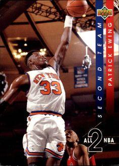 1993-94 UPPERDECK ALL-NBA AN8 PATRICK EWING NEW YORK KNICKS NMMT