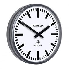 Buy Thomas Kent Regulator Clock - 22 Inch from our Wall Clocks range at Red Candy, home of quirky decor. Wall Clock Ikea, Wall Clocks, Thomas Kent Clocks, Quirky Decor, Wall Clock Design, Red Candy, Home Accessories, Modern, Gifts