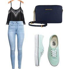 Vans by tania-alves on Polyvore featuring polyvore fashion style H&M Vans