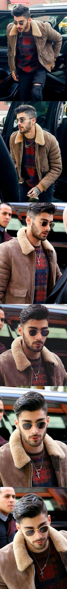 Zayn Malik ❥ in NYC  #Zayn Malik