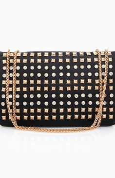 Living On The Edge Studded Bag- DL