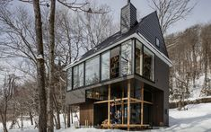 Nojiri-ko Nature Platforms by SUGAWARADAISUKE Architects