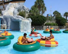 Myrtle Beach Attractions And Water Parks This Park Includes Slides Go Cartore