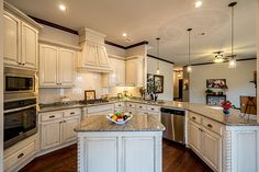 Kitchens | Lighting | Tile | Hardwood Floors | Granite | White Finish | SW OKC | Cabinets | Home Builders