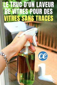 Heavy Duty Homemade Window Cleaner - a DIY window cleaning solution, perfect for dirty outdoor windows and glass surfaces! Window Cleaning Solutions, Deep Cleaning Tips, House Cleaning Tips, Spring Cleaning, Cleaning Hacks, Best Window Cleaning Solution, Cleaning Recipes, Diy Hacks, Homemade Toilet Cleaner
