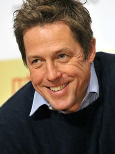 Hugh Grant. Love him. Watch Love Actually and you will know what I'm talking about. ;)