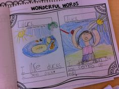 Words have two meanings! …make a wonderful words journal with your students.