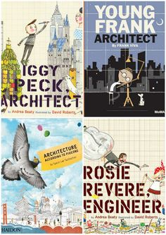 BOOKS FOR KIDS WHO WANT TO BE ARCHITECTS