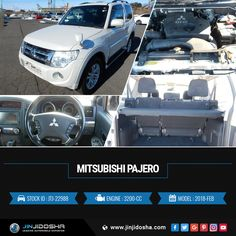 #Buy Your #MITSUBISHI #PAJERO #SWB 2018 Now! #JinJidosha #Japan #BestCarSellingCompany #Japanese #RHD #Drive #Carsforsale #Sale #AT #Automatic #Speedway #SuperCars #White #Foglights #Roofrails #Rearspoiler #Tv #Soundsystem #Navigation #Vehicles #Cars #Dealership #Offer #Contact