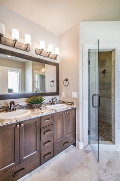 Master Bathroom From The Cordova By Eaglewood Homes Boise Meridian Twin Falls Idaho