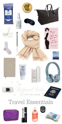 Everything You Need in Your Carry-on For a Long Haul Flight – Refined Side – travel outfit plane long flights New Travel, Packing Tips For Travel, Travel Style, Travel Hacks, Packing Lists, Europe Packing, Traveling Europe, Backpacking Europe, Travel Deals