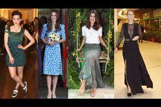 Sophia Abrahão, Kate Middleton, Isabela Fiorentino, Mariana Ximenes / Fotos: AgNews e Divulgação