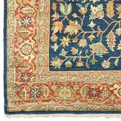I like the blue in this Persian rug || oriental rug