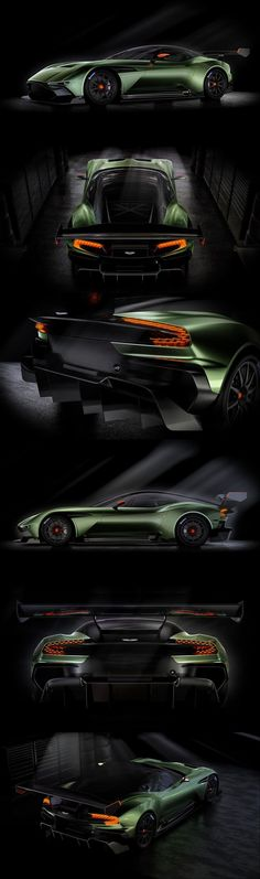 Aston Martin Vulcan :: All-carbon fibre track-only #supercar (800+ bhp), limited to just 24 examples worldwide #luxurycars