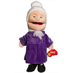 Grandmother White Puppet