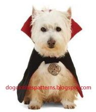 A Bunch of Free Dog Clothes Patterns - downloadable - looks like XS-XL