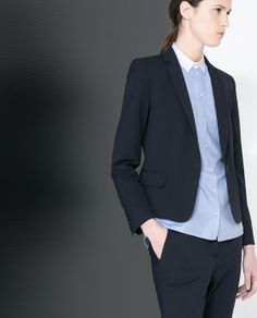 ZARA - NEW THIS WEEK - SINGLE BUTTON BLAZER