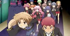 I recommend this anime Anime : baka to test to shoukanjuu Widescreen Wallpaper, Wallpaper Backgrounds, Wallpapers, Baka To Test, Little Wich Academia, Test Image, Kimi Ni Todoke, To Love Ru, Summoning