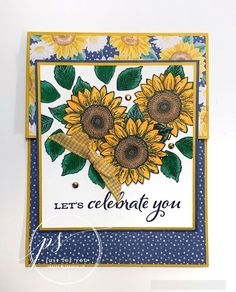 Celebrate Sunflowers card by Stampin' Up!