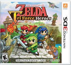 Videojuego The Legend of Zelda Tri Force Heroes 3DS. Compra en línea fácil y seguro. #Kémik