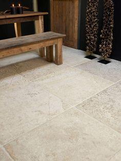 Antike #Bodenfliesen – #Opkamer antike Bodenplatten - Französisch Naturstein Ideen | de-opkamer.de