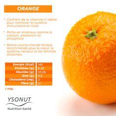 L'#orange, c'est l'un des fruits conseillés pour faire le plein de #vitamine C, idéal pour renforcer le système immunitaire.