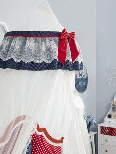 Cilek Lacy Betthimmel passend zum Möbeldesign Strawberry        - Kostenloser Versand innerhalb Deutschlands! -       Wenn ein Windzug durch das Fenster huscht, und man der sanften Bewegung des Betthimmels folgen kann, fühlt man...