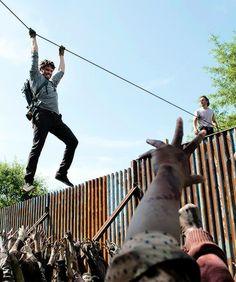 "The Walking Dead Season 6 Episode 7 ""Heads Up"" Spencer"