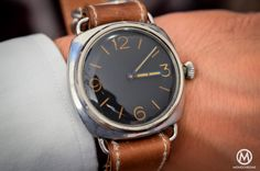 Inside the Artcurial 'Panerai Only' Auction - Hands-on with the vintage Panerai Rolex - Monochrome-Watches - Monochrome Watches