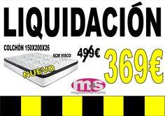 #colchones #descanso #visco #liquidación