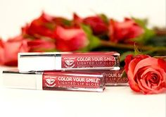 Review, Makeover Swatches: Whitening Lightning Color Your Smile Lighted Lip Gloss #bstat