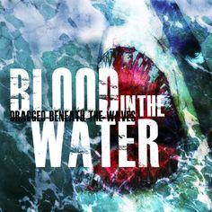 Blood in the water by Steve Barnett, via Behance