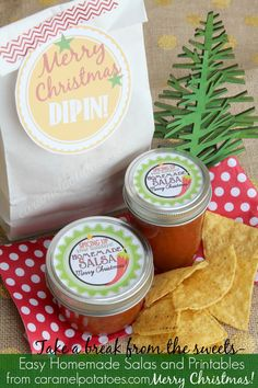 Fast and Easy Gifting!  The salty chips are a nice break from all the holiday sweets!
