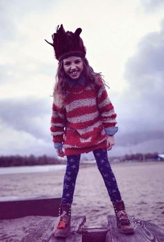 Scotch R' Belle chunky fun kids knits for winter 2012
