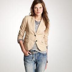 fashion, j crew, blazers, casual wear, jcrew