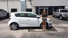 Megan's new 2015 Chevrolet Sonic! Congratulations and best wishes from Jay Hatfield CDJR and SHAWN STRANG.