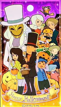 Professor Layton and The Miracle Mask! Squee, I love this❤️