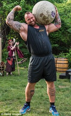 Bjornsson, pictured at the 2015 Philadelphia Renaissance Faire