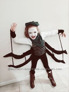 Coolest Spider Costume for a Girl... Coolest Halloween Costume Contest