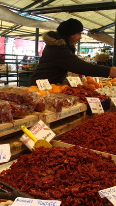 Market Venice Italy  February 2013