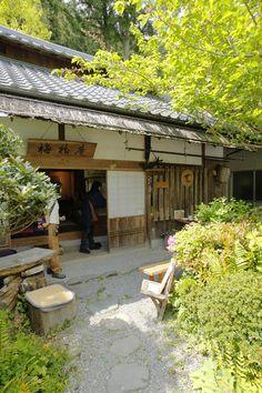 Traditional Japanese house as tearoom in Ryujin village, Wakayama, Japan 和歌山 龍神村