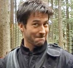 Joe Flanigan as John Sheppard - SGA So cute and notice the Elf ears for real.