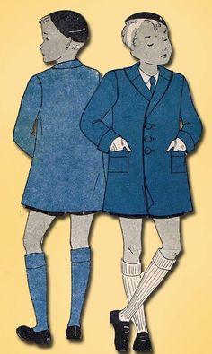 Vintage Du Barry Sewing Pattern Toddler Boys Lined Coat Size 4 Boys Sewing Patterns, Kids Patterns, Coat Patterns, Sewing For Kids, Vintage Sewing Patterns, Vintage Boys, Vintage Children, Boys Winter Coats, Boys Coats