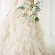 You would think this wedding waspulled straight from the pages ofa really gorgeous fairytale, or possibly a movie set. But no, it's real lifedesigned down to the last perfect detail byJCG Events LLCpaired withlush garland centerpieces and bouquets byInes Naftali, gorgeous stationery byMomental Designs,and a blush coloredMonique Lhuilliergown that will stop you in your tracks. […]