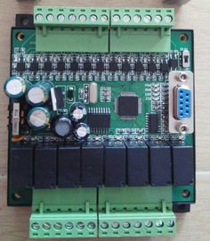 PLC  industrial control plate FX1N 20MRMT download online monitoringtext hold during power off  20MR relay output PLC