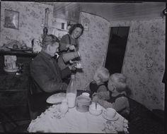 Danish family 1940s