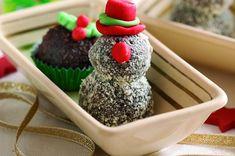 Chocolate snowman truffles recipe - goodtoknow