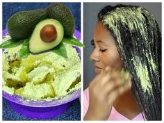 😡 I put AVOCADO in my hair and this is what happened - YouTube
