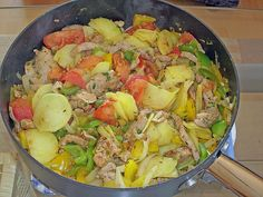 Gyros - Kartoffel - Pfanne