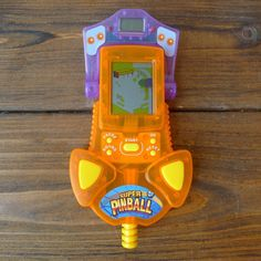 Westminster Super Pinball Handheld LCD Video Game Vintage Clear Plastic